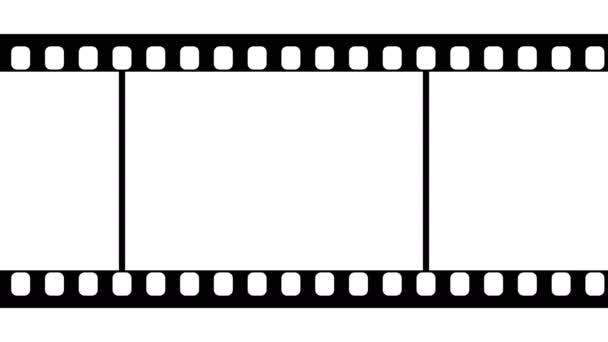 35 mm-es Film csík fekete-fehér felvétel
