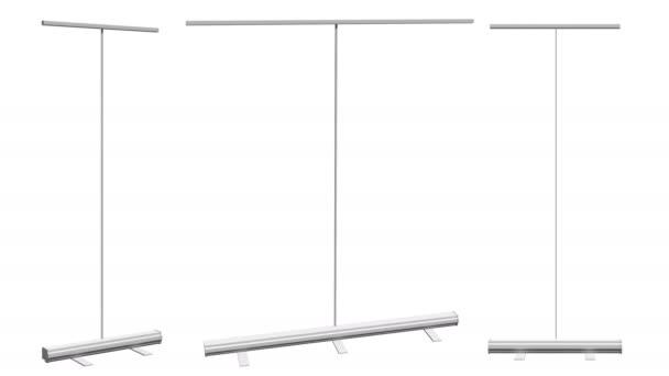 prázdné roll up banner stojan