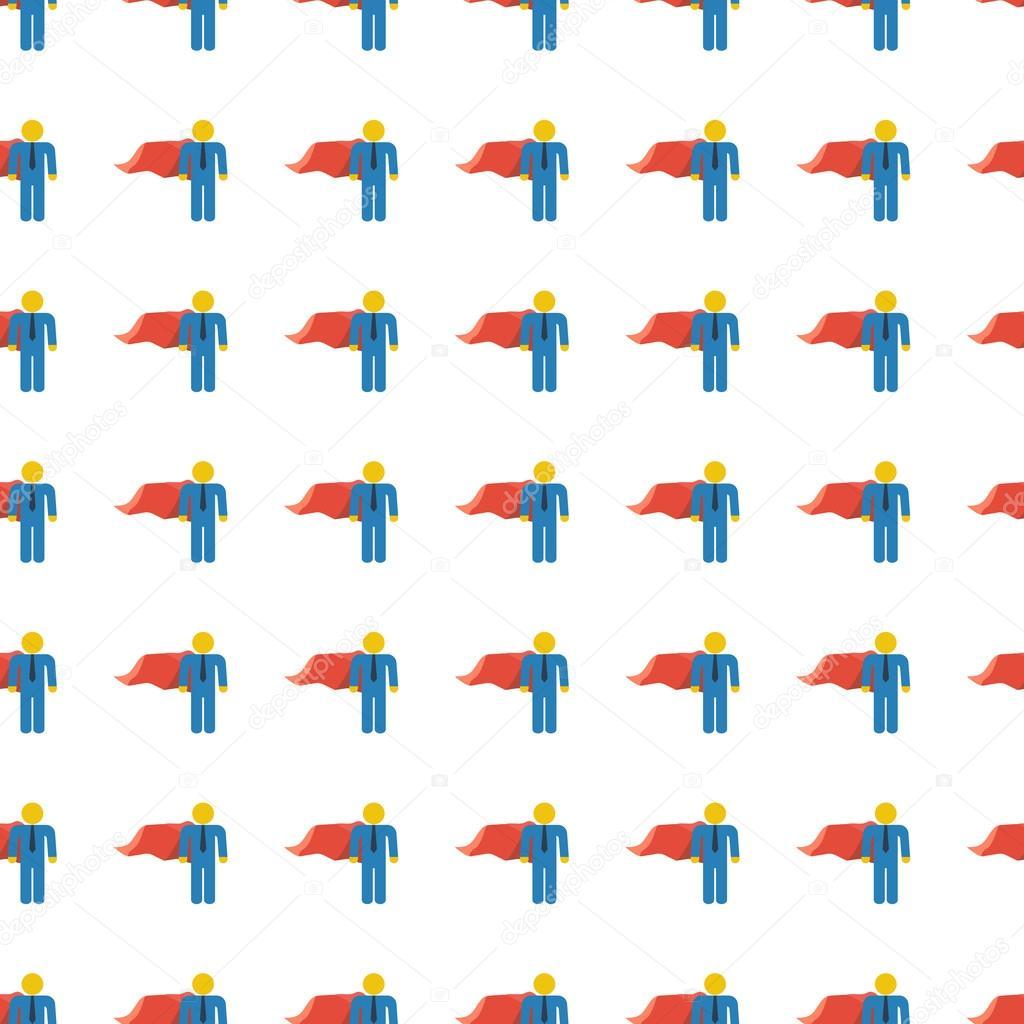 superhero seamless pattern. Vector — Archivo Imágenes Vectoriales ...
