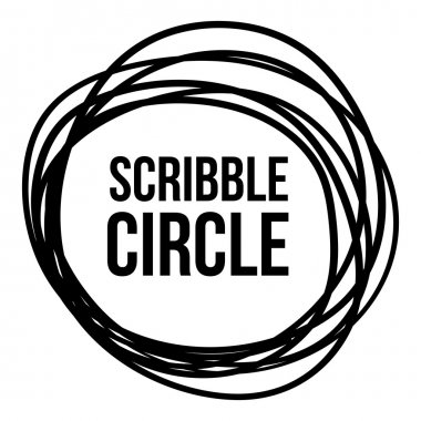 Scribble Circle Vector