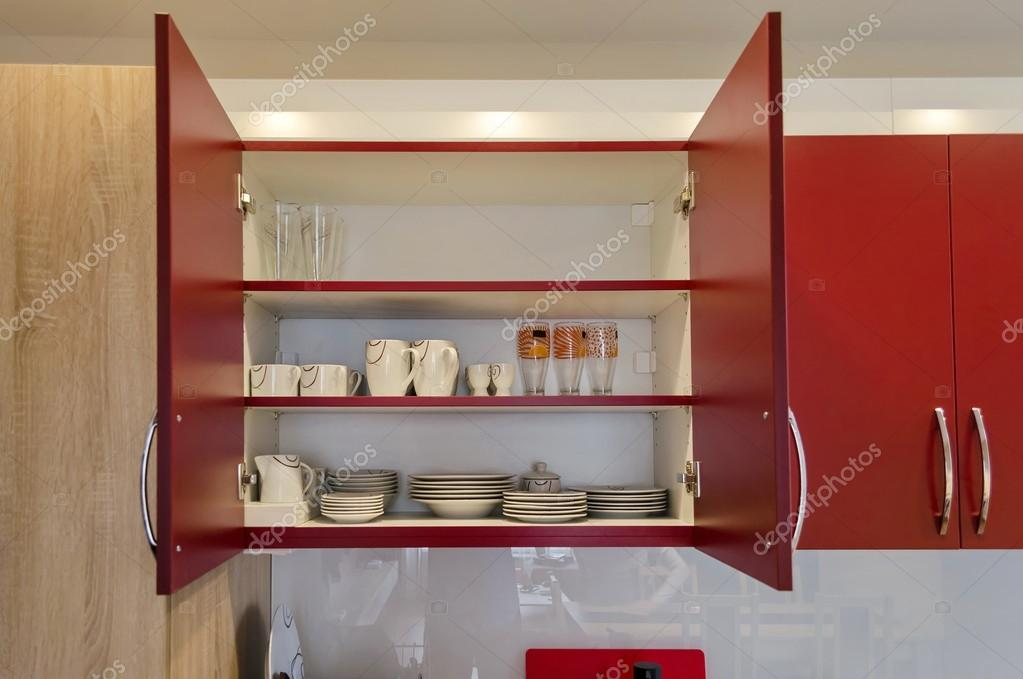 Küchenschrank — Stockfoto © intsysd #58993783