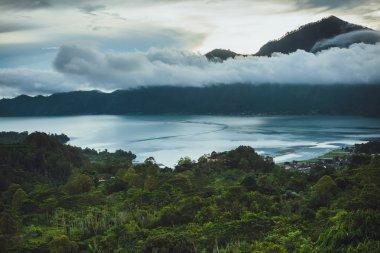 Great view on Batur Volcano in Bali