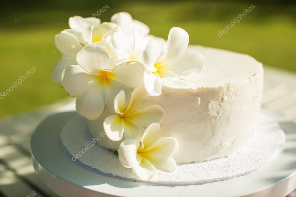 White Wedding Cake — Stock Photo © Haribol_108 #80930612