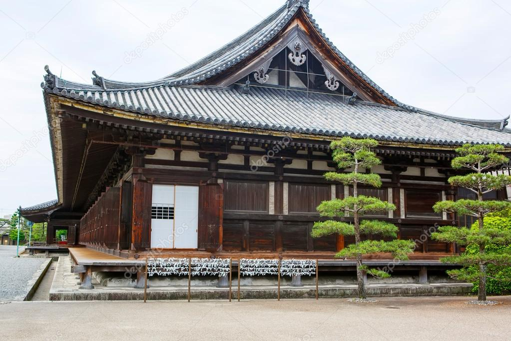 temple in kyoto japan ancient japanese architecture stock photo