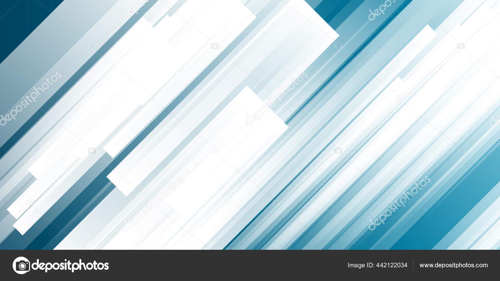 Biru Dan Putih Latar Belakang Dengan Elemen Garis Mengkilap Vektor — Stok  Vektor © Salmanalfa #442122034