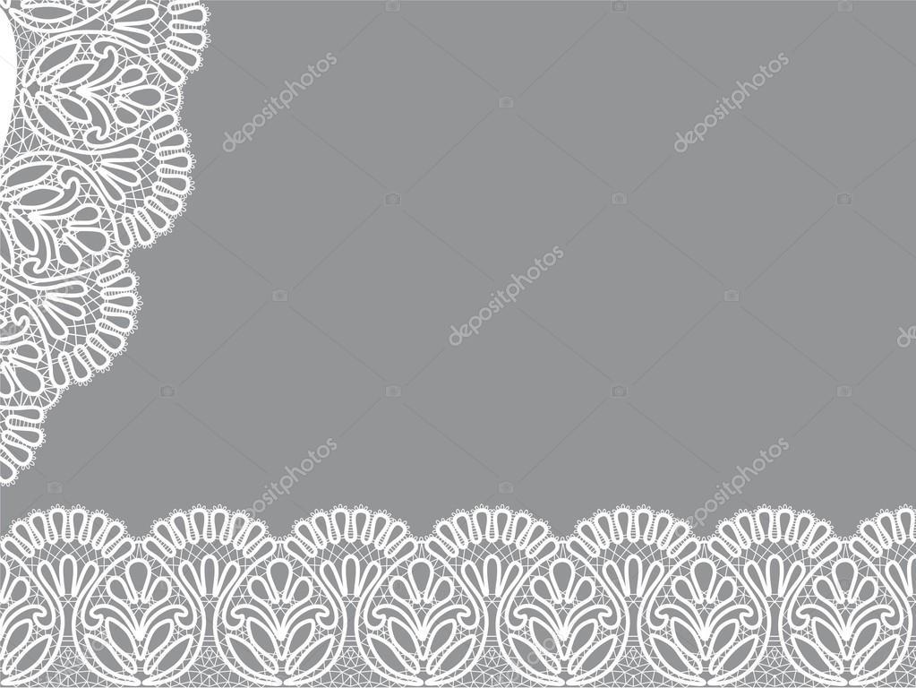 diseño del marco de plantilla para tarjeta — Vector de stock ...