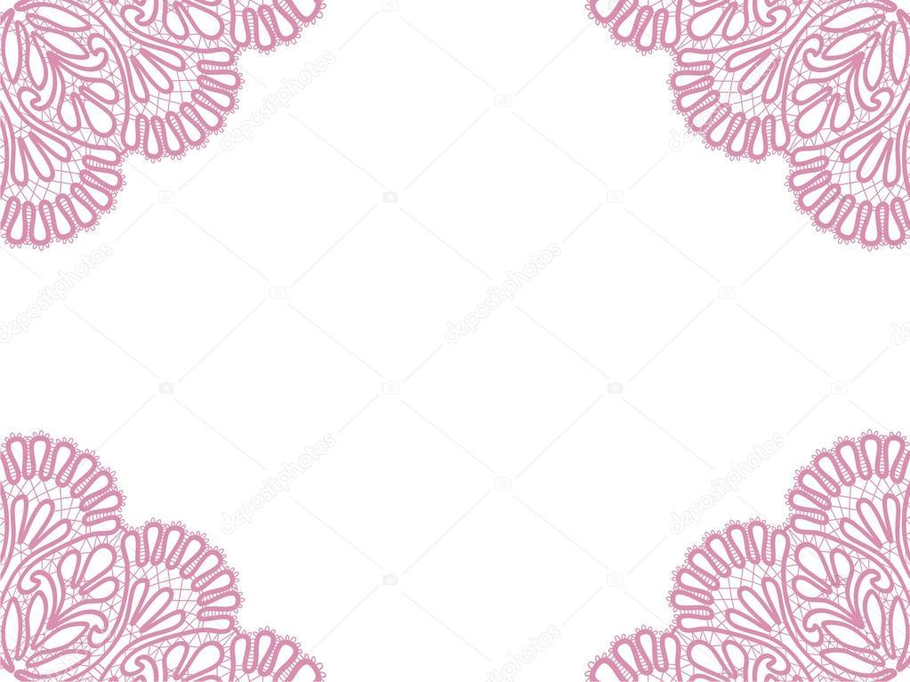 diseño del marco de plantilla para tarjeta — Archivo Imágenes ...