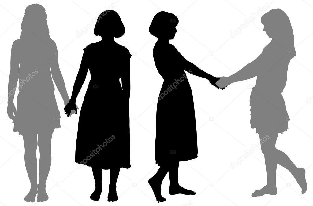 Imágenes: Silueta Mujeres