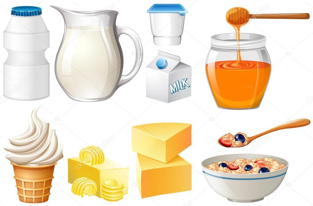 Imágenes Productos Lacteos Productos Lácteos Con Leche Y Miel