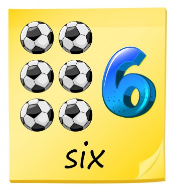 A number six