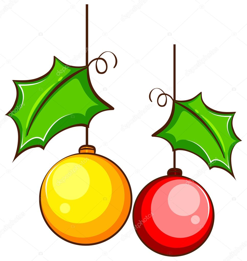 Decorazioni Di Natale Disegni.Un Semplice Colorato Il Disegno Di Una Decorazione Di Natale