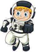 Mužský astronaut