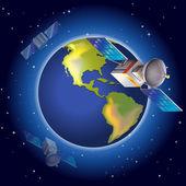 Satelity kolem planety