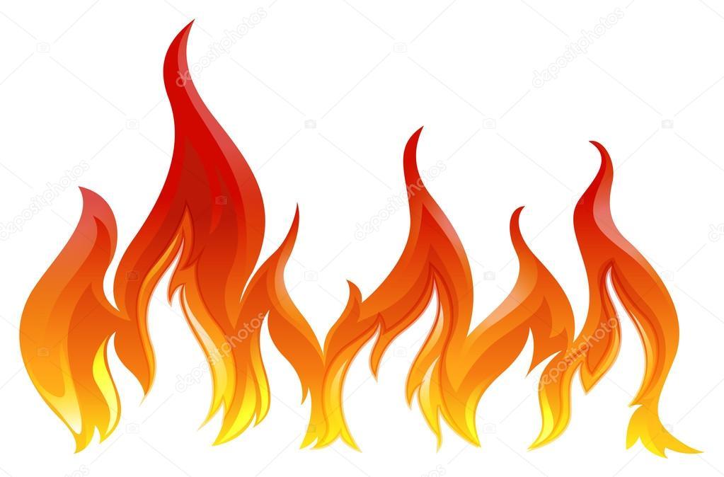 Yangın Stok Vektör Blueringmedia 54654453