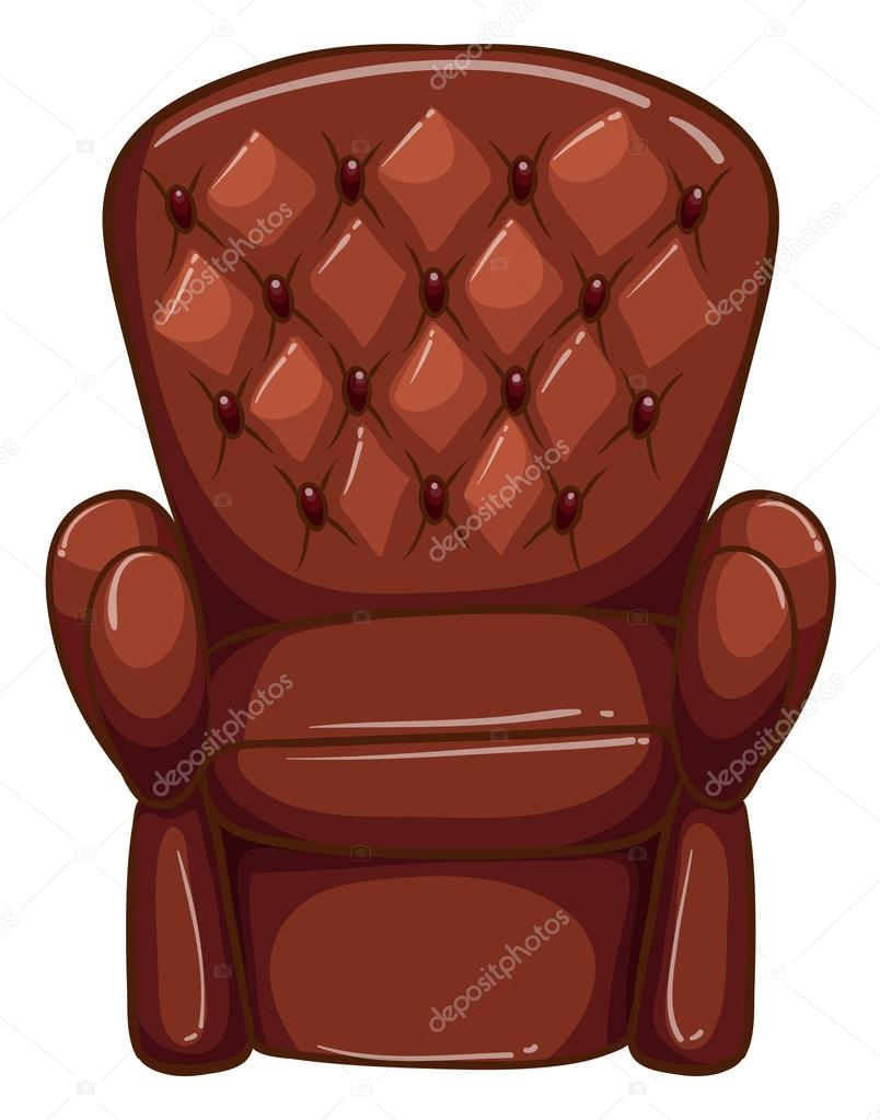 un simple dibujo de un mueble marrón de color ? vector de stock ... - Dibujo De Muebles