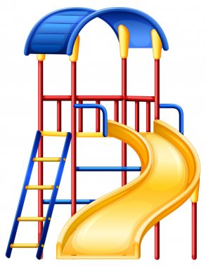 A colourful slide