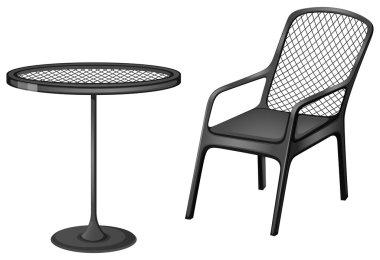 Grey furnitures
