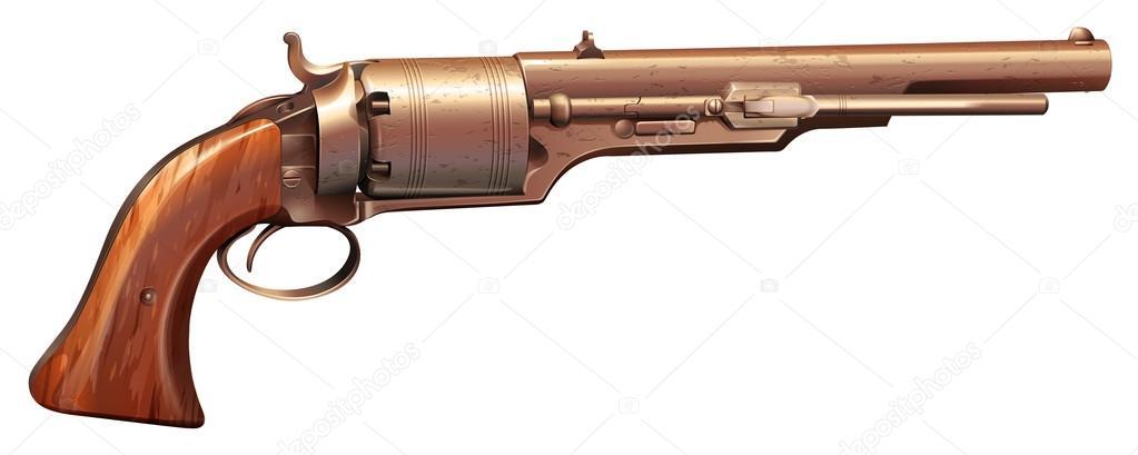 ᐈ Arma De Fuego Dibujo Vectores De Stock, Ilustraciones