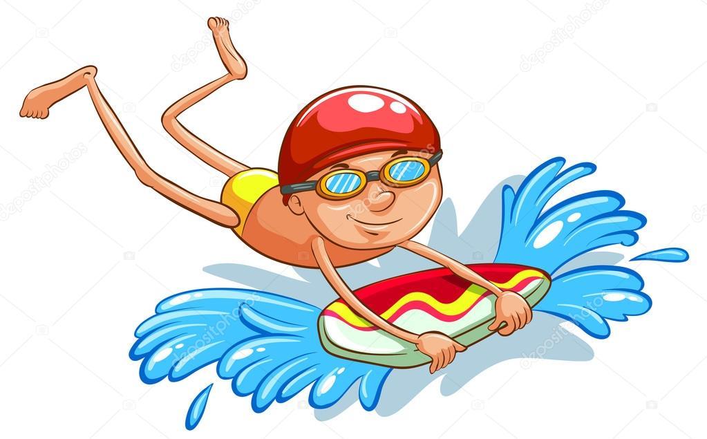 Afbeeldingsresultaat voor zwemmen tekening