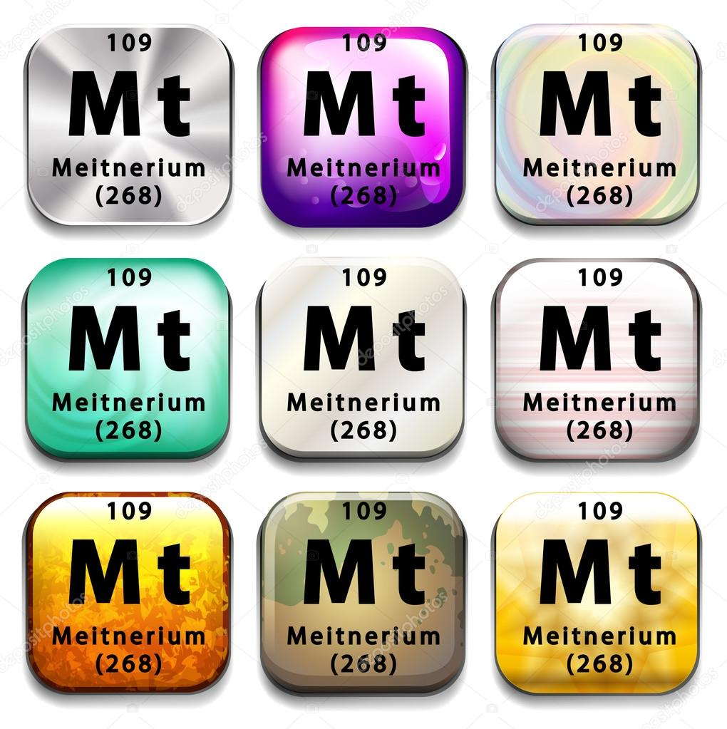 マイトネリウムを示す周期表 — ...