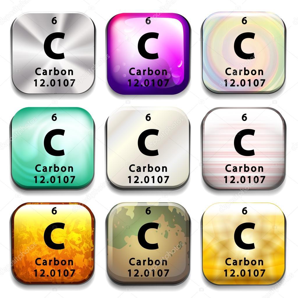 Una tabla peridica de carbono archivo imgenes vectoriales una tabla peridica de carbono archivo imgenes vectoriales urtaz Image collections