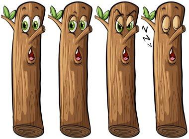 Set of logs