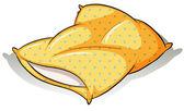 Fotografie A yellow pillow