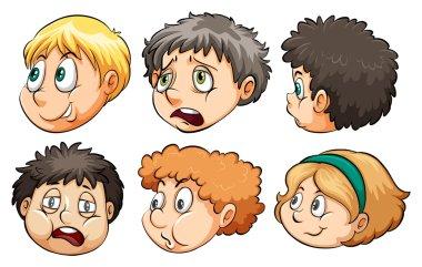 Six heads