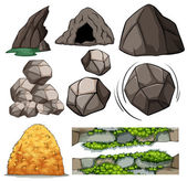 Skály a jeskyně