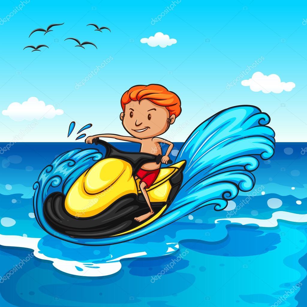 ᐈ Cartoon Jet Stock Pics Royalty Free Cartoon Jet Ski Pictures Download On Depositphotos