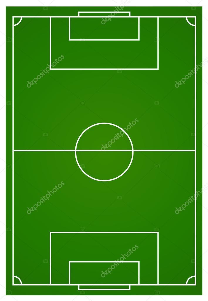 soccer or football field aerial stock vector blueringmedia 79121960 rh depositphotos com football field clipart vector football field vector 3d