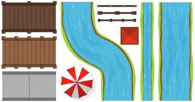 Bridges and rivers