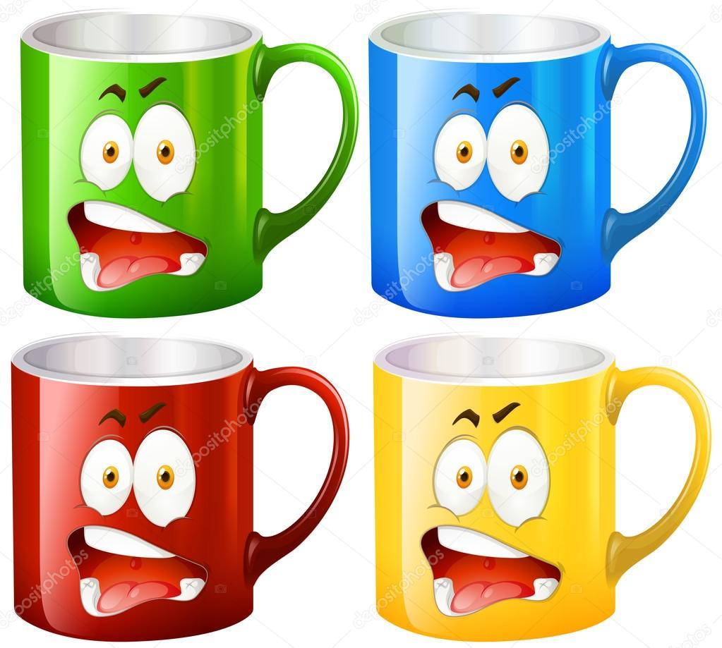 Coffee Mug Clip Art - Royalty Free - GoGraph
