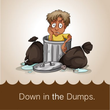 Down in the dumps