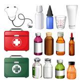 Lékařské vybavení a kontejnery