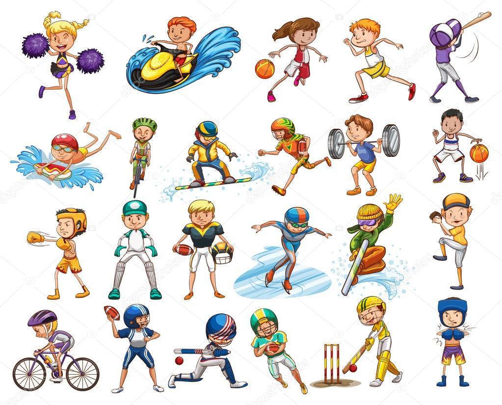 Deportes Diferentes Deportes: Diferentes Tipos De Deportes