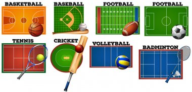 Sport courts and equipment