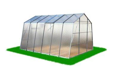 Modern greenhouse view