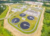 Fotografie Public sewage treatment plant