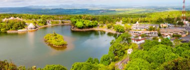 Ganga Talao also known as Grand Bassin crater lake on Mauritius.