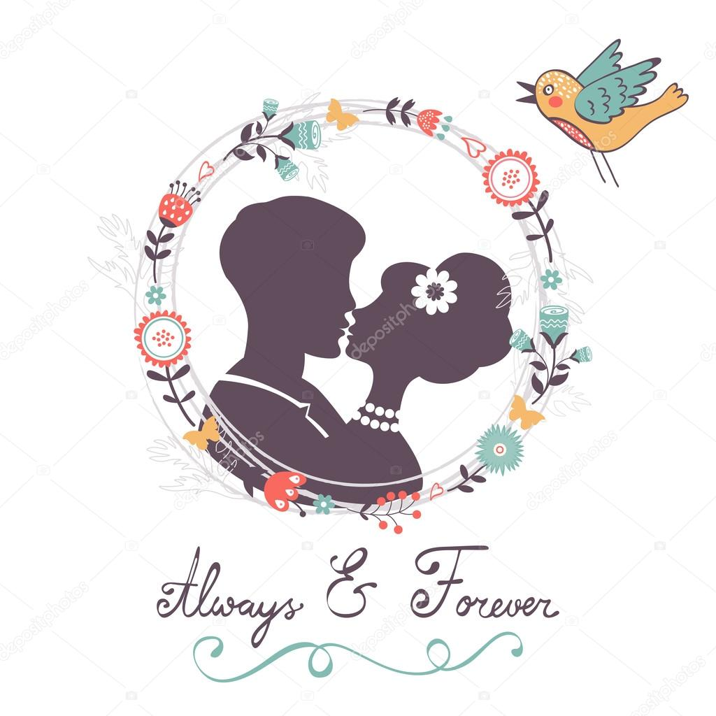 Love concept card