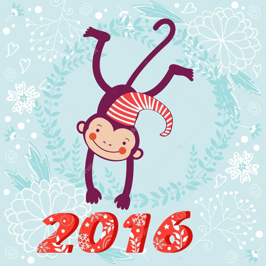 Картинки смешная обезьяна 2016