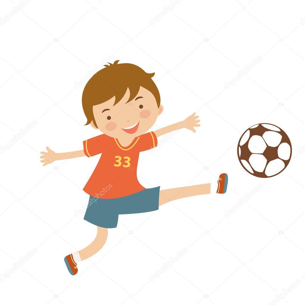 かわいいサッカー選手 ストックベクター Japanez 83848222