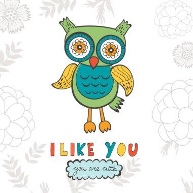 I like you you are so cute