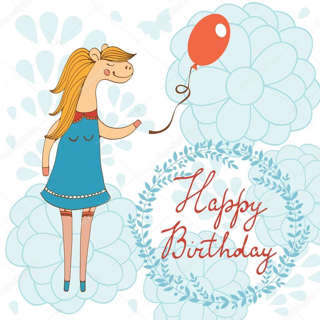 Liebenswert Herzlichen Gluckwunsch Zum Geburtstag Karte Mit