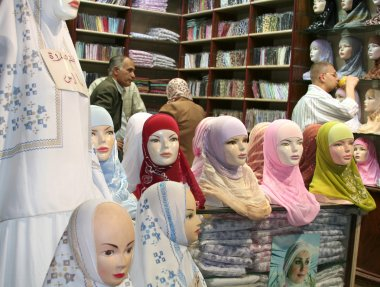 Hijab Shop at Souk in Aleppo