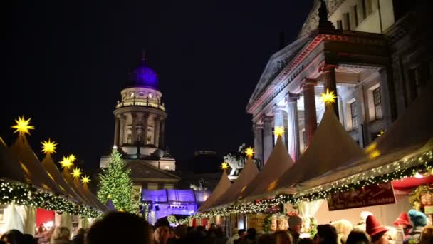 Christmas market at Gendarmenmarkt in Berlin