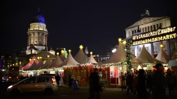 Christmas market at Gendarmenmarkt in Berlin