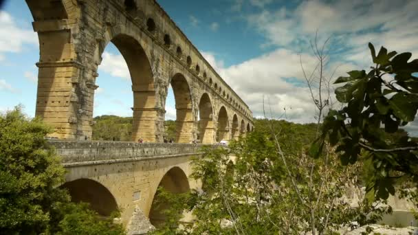 Pont du Gard v jižní Francii
