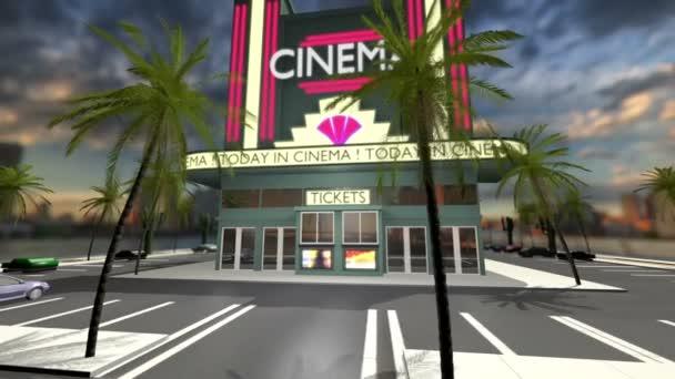 Animovaný film s otevřením dveří